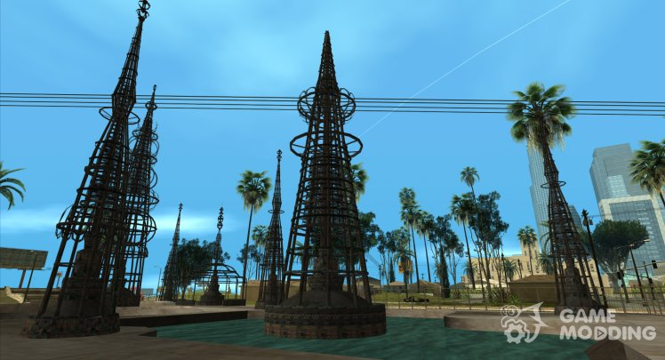 GTA V to SA Watts Towers