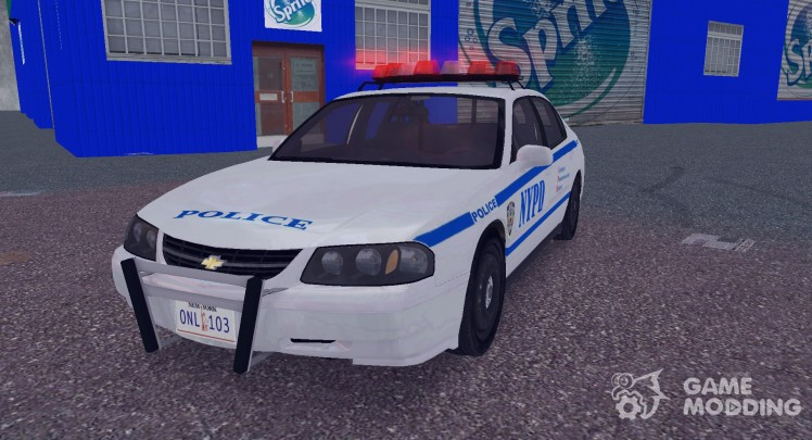 Chevrolet Impala, The New York Police Department