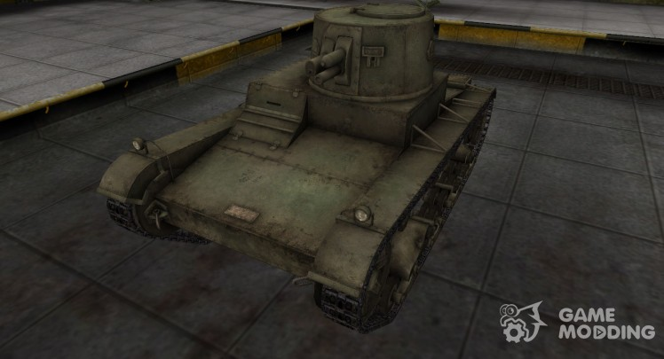 Шкурка для китайского танка Vickers Mk. E Type B