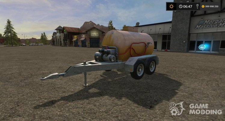 Tank for LIZARD fuel FUEL CART for Farming Simulator 2017