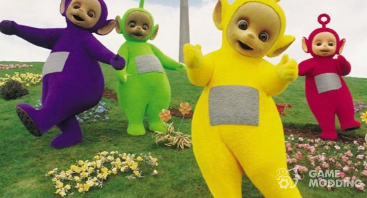 Loading screens Teletubbies