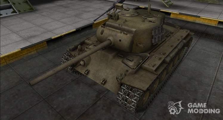 Remodeling for the M26 Pershing