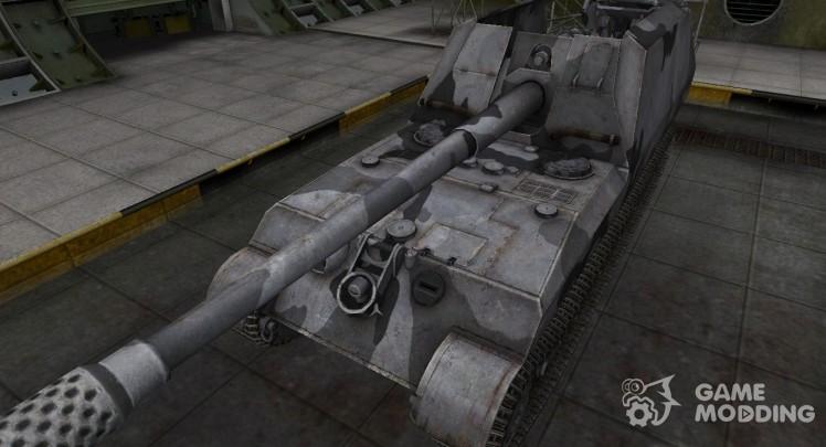 Emery cloth for German tank GW Tiger