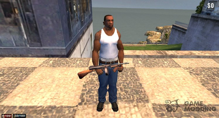 CJ from GTA San Andreas