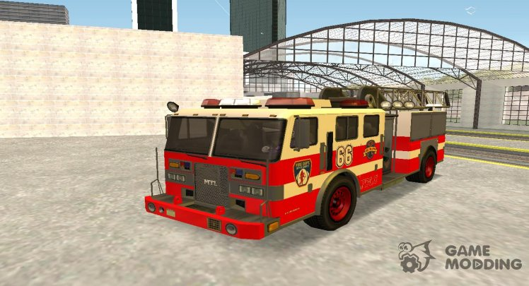 GTA 4 Firetruck Ladder (EML)