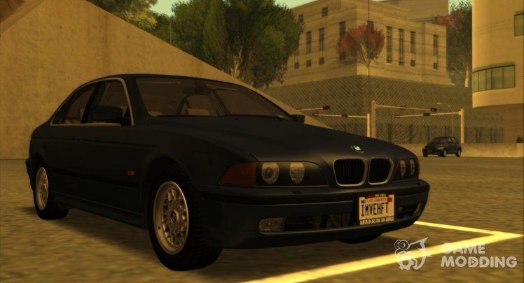 BMW 5-Series e39 525i 1999 (US-Spec) для GTA San Andreas