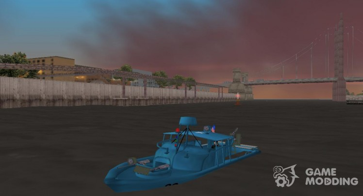 Patrol Boat River Mark 2 (Player_At_Wheel)