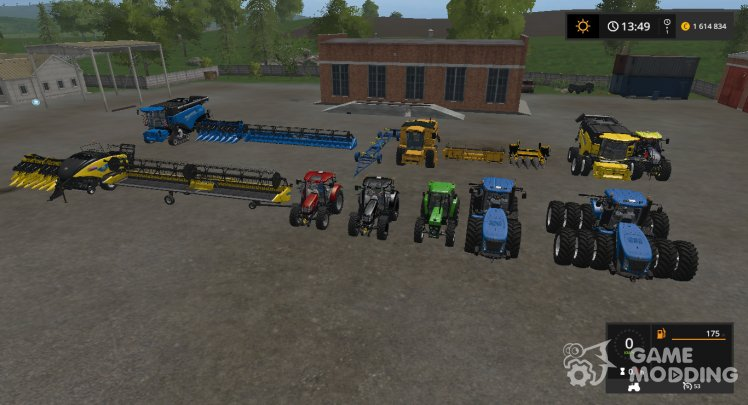 New Holland v PACK.1