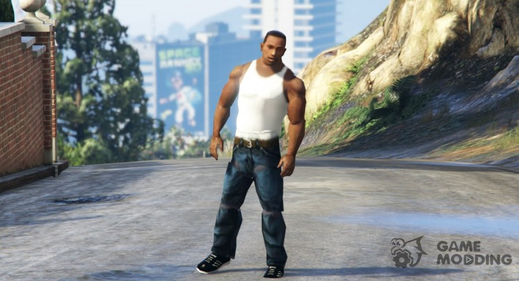Carl Johnson (CJ) WIP
