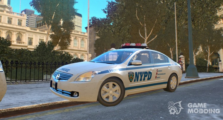 Nissan Altima Hybrid NYPD