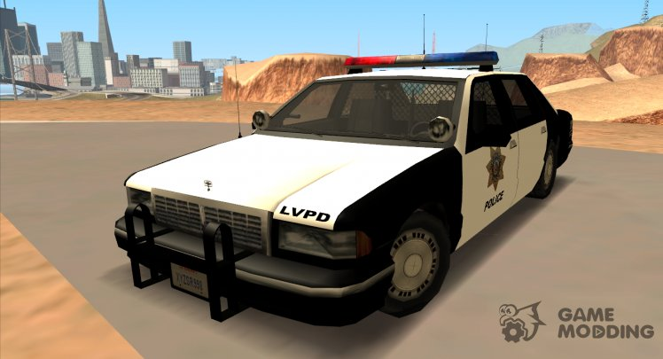 1992 CHEVROLET POLICE LVPD SA STYLE