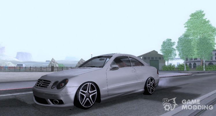 Mercedes-Benz CLK 55 AMG Coupe