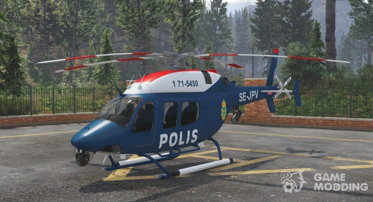 Bell 429 Swedish Police Air Wing