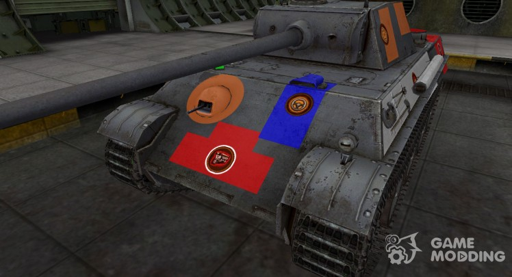 High-quality skin for PzKpfw V Panther