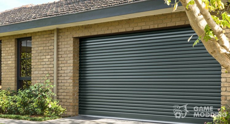 Garage door sound