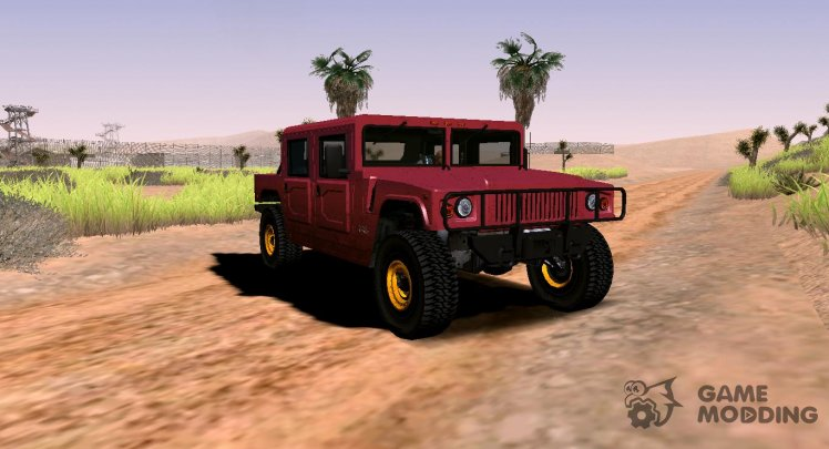 GTA V Mammoth Patriot Classic (VehFuncs)