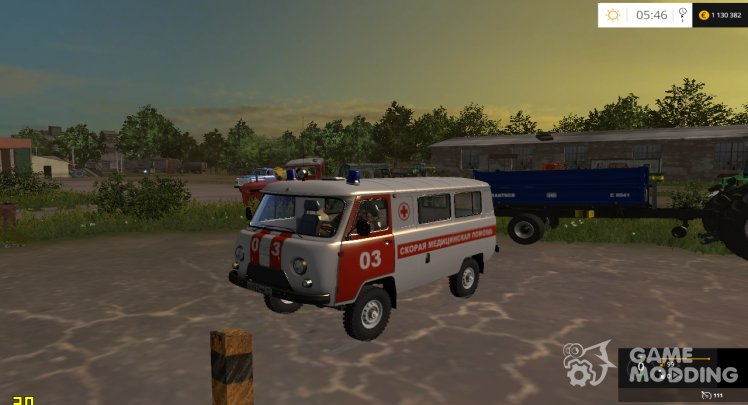 The UAZ-2206 Ambulance