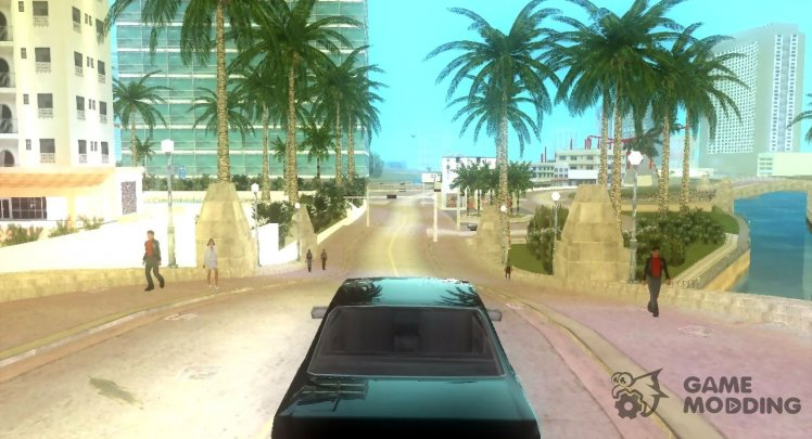 Vice City Real Palms