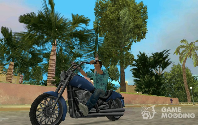 Pak motorcycles from the Xbox version