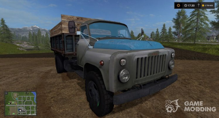 GAZ 53 for Farming Simulator 2017