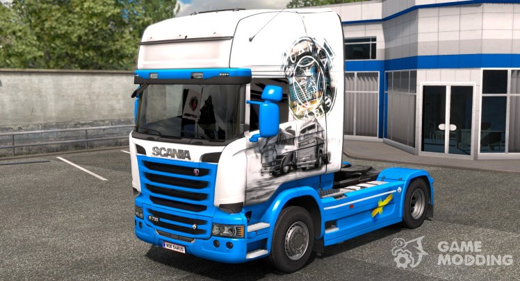 Old Scania Vabis and Scania to Streamline
