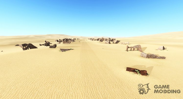 Ghosts desert