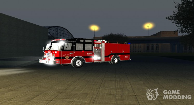 Pierce Arrow XT-Bone County Fire Department