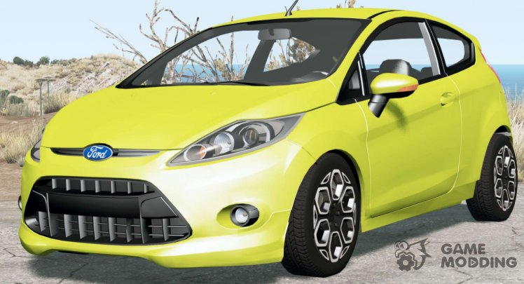 Ford Fiesta 3-door 2008