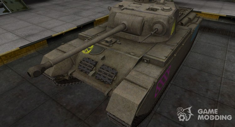 Quality of breaking through for a Centurion Mk I