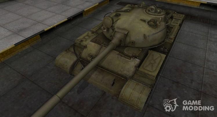 Шкурка для Т-62А в расскраске 4БО