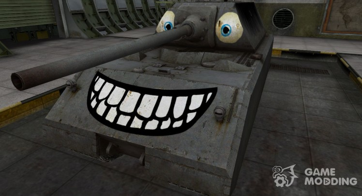 Funny skin Maus for World Of Tanks