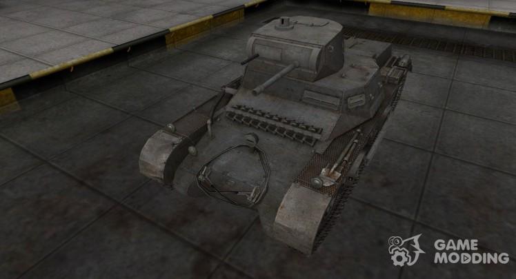 Немецкий танк PzKpfw 38H 735 (f)