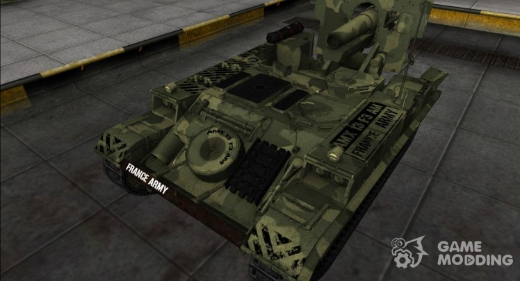 The skin for the AMX 13 F3: