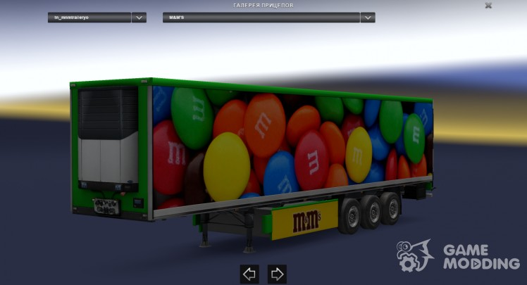 M&M's cooliner trailer mod by BarbootX