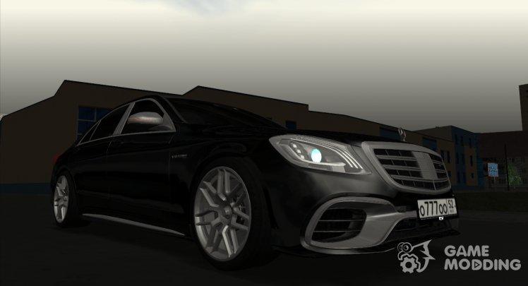 Mercedes Benz for GTA San Andreas