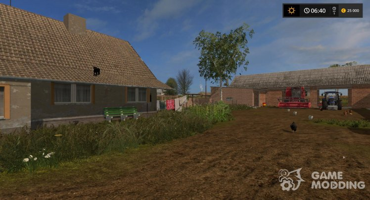 A small village for Farming Simulator 2017
