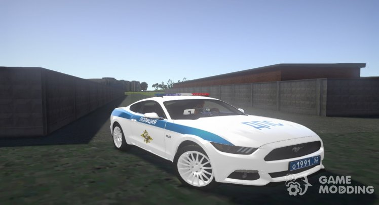 Ford Mustang GT 2015 Police DPS