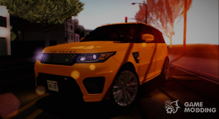Land Rover Range Rover Sport SVR L494 2015