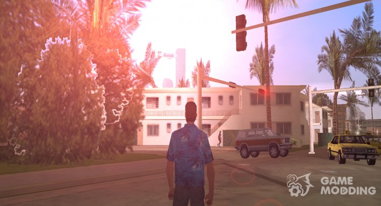 Graphic mods for GTA Vice City