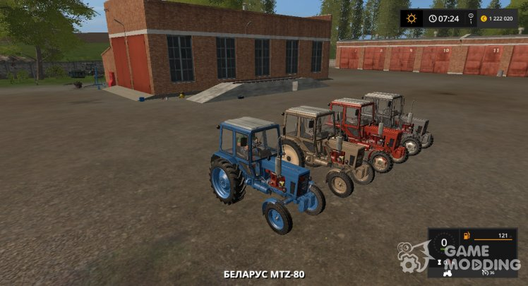 Pack of MTZ version 1.2