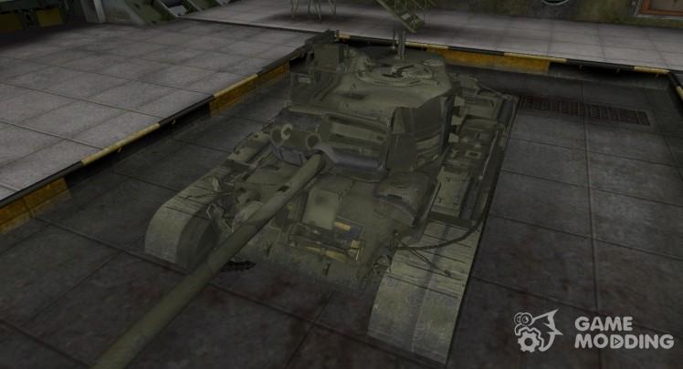 Исторический камуфляж M46 Patton