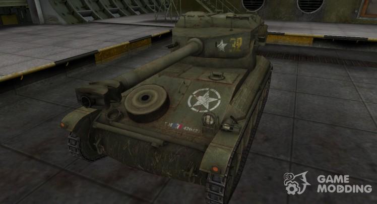 Исторический камуфляж AMX 12t