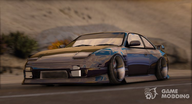 1994 Nissan Silvia S13 Front End