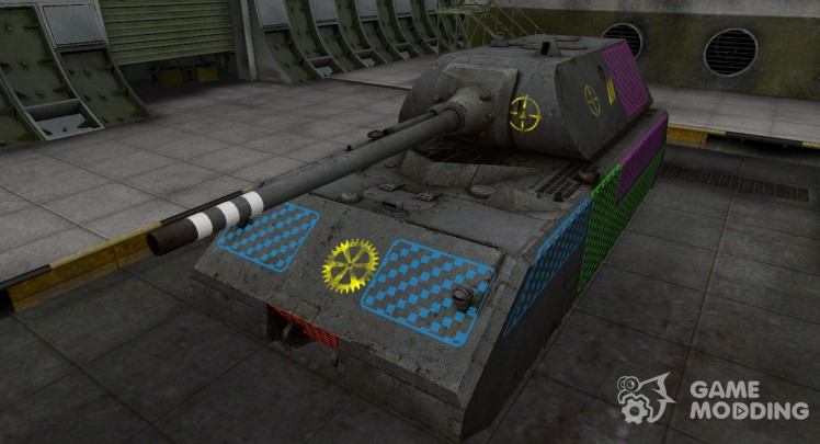 Quality of breaking through for Maus for World Of Tanks