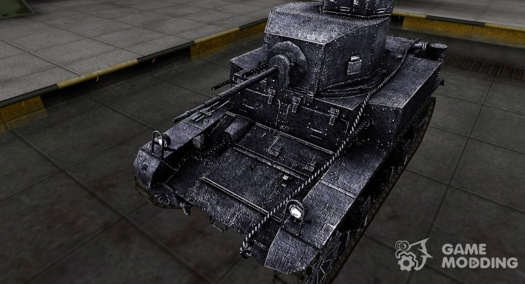 Dark skin for M3 Stuart
