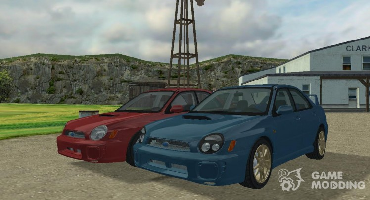 Subaru Impreza WRX '00