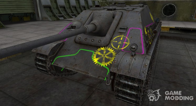 Contour zone breakthrough Jagdpanther for World Of Tanks