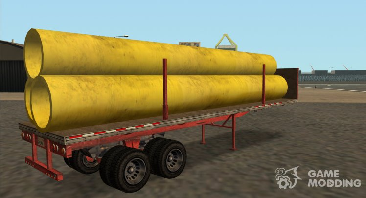 GTA IV Trailer Industrial Pipes