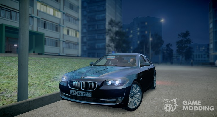 BMW M5 F10 (Moscow)
