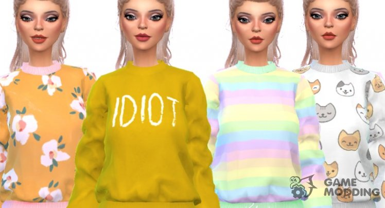 Tumblr Themed Sweatshirts - Mesh Needed